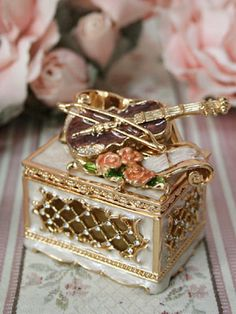 A magic music box. It plays music to transport you to places of peace and beauty! j