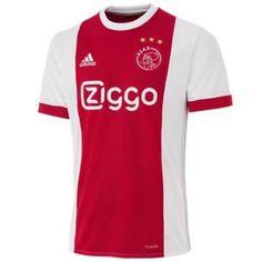 Maillots de foot Ajax Amsterdam 2017-18 L'équipe a également remporté trois Coupes d'Europe (le prédécesseur de l'UEFA Champions League) de 1971 à 1973.
