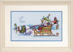Gallery.ru / Фото #1 - 1 - lillyt Cross Stitch, Frame, Christmas, Painting, Home Decor, Art, Picture Frame, Xmas, Art Background