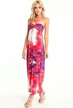 Into The Woods Maxi Dress