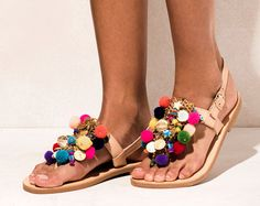 Sandals Maude handmade to order