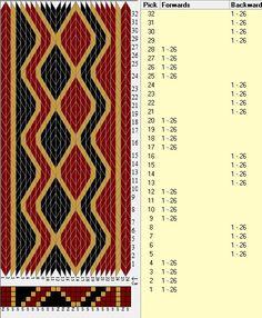26 tarjetas, 3 colores, secuencias 4F-4B // sed_313 diseñado en GTT༺❁