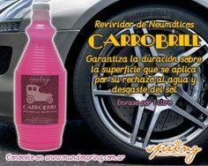 Revividor de Neumáticos CARROBRILL. Envase por 1 litro.
