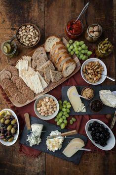 Cheese platter for entertaining