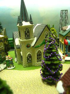 Xmas Villages On Pinterest Christmas Villages Dioramas
