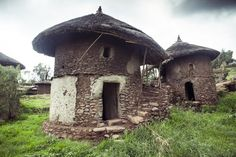 Tukul homes, Ethiopian highlands, vernacular architecture