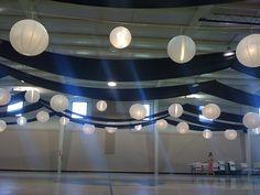 decorating gym ceiling