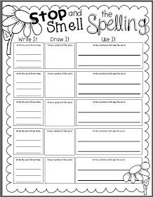 Printables Spelling Homework Worksheets spelling word practice homework and window on pinterest free i do not believe that giving students a list of words telling them to memorize it for test is super effective think this spelling