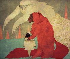 Illustrations by Karolina Starodubaa.k.a.Red...