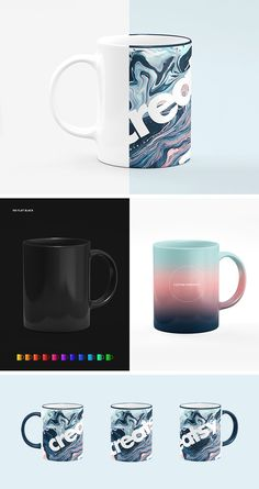 Sublimation Mug Mockup Set