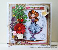 ..cards and crafts by pearl..: Saturated Canary Challenge # 41