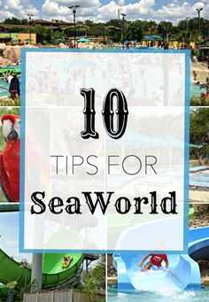 10 Tips for SeaWorld Aquatica in San Antonio, Texas.