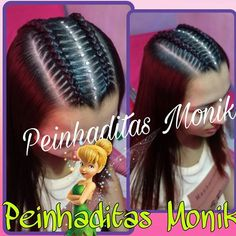 Resultado de imagen para peinados monik Teenage Hairstyles, Baby Girl Hairstyles, Braided Hairstyles, Cool Hairstyles, Little Girl Braids, Girls Braids, Long Hair Designs, Curls For Long Hair, Twist Ponytail