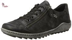 Remonte R1402, Sneakers Basses Femme, Noir (Schwarz/Graphit), 37 EU - Chaussures remonte (*Partner-Link)