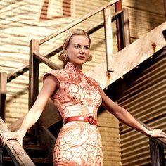 "Nicole Kidman wearng a pink cheongsam for the Baz Luhrman movie ""Australia"" set in Darwin in the Nicole Kidman, Cheongsam, Celebrity Outfits, Celebrity Style, Australia Movie, Vintage Outfits, Vintage Fashion, 20th Century Fashion, Down Hairstyles"