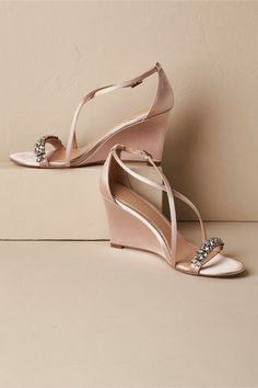 030e6dca030 BHLDN Little Wedges Bridal Shoes Wedges