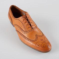 Paul Smith Shoes | Tan Miller Brogues