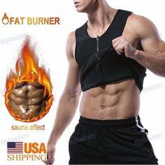 67e16d8b0cb Hot Men s Waist Trainer Vest Sauna Sweat Body Shaper Tank Top Slim Trimmer  Shirt  fashion  clothing  shoes  accessories  womensclothing   intimatessleep ...