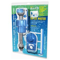 HydroFix Water Saving Toilet Fill Valve and Flapper Kit - Eartheasy.com Solutions for Sustainable Living