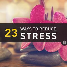 Finals starting to get to you? Check out these 23 ways to reduce stress now! #stressrelief