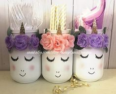 38 Ideas Party Decorations Gold Pink Pom Poms For 2019 Party Unicorn, Unicorn Themed Birthday Party, Unicorn Baby Shower, Unicorn Birthday Parties, 10th Birthday, Birthday Party Decorations, Birthday Ideas, Purple Birthday, Room Decorations