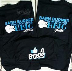 Like A Boss Barnburner Promotions Custom Shirts
