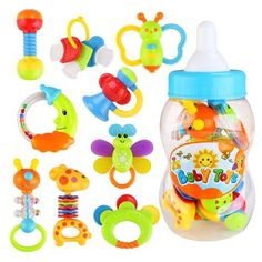 Modest Baby Toys New Teether Cloth Print Pacifer Clip Teething Beads Classic Toys Baby Teethernewborn Bottle Hanging Rattles Baby & Toddler Toys Baby Rattles & Mobiles