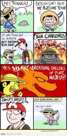Best Pokemon Team ever.... Not quite