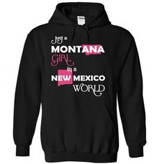 (Montana001) Just A Montana Girl In A New_Mexico World - #hoodie kids #hoodie refashion. SAVE => https://www.sunfrog.com/Valentines/-28Montana001-29-Just-A-Montana-Girl-In-A-New-5FMexico-World-Black-Hoodie.html?68278