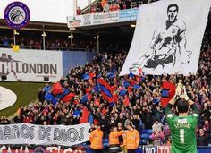 Holmesdale Fanatics tribute to Julian Speroni Crystal Palace Fc, Soccer Fans, Football, Twitter, Board, Buenos Aires Argentina, Futbol, American Football, Soccer Ball