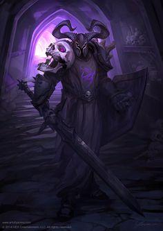 Paladin of the Necropolis by YanmoZhang.deviantart.com on @DeviantArt