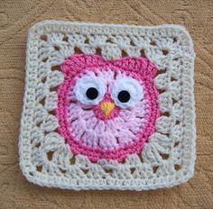 It's a Hoot! Pattern available for sale on Ravelry. Photo from here…