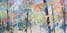 Sheila Davis, trees and light