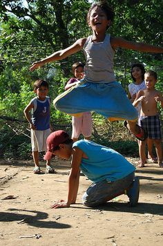 Larong Pinoy Series #03:Luksong Baka | Flickr - Photo Sharing!