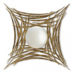 Love this modern mirror - playing off of Sophisticated Spheres Concepts | Christopher Guy Collection