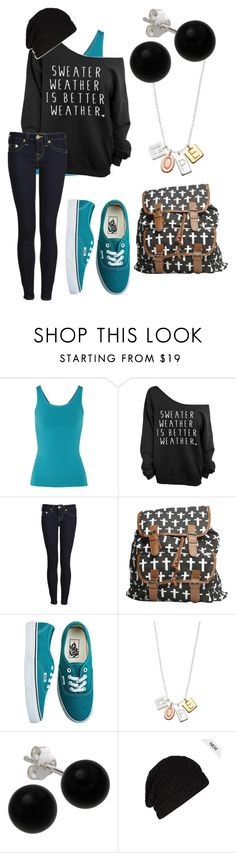 """Sweater Weather"" by immajuststayme ❤ liked on Polyvore featuring mode, Yummie by Heather Thomson, True Religion, Wet Seal, Vans, Stella & Dot, Bridge Jewelry en AllSaints"