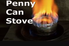 There are many ways for people to make things to use for survival or when camping. One item that can be easily be used in an emergency is a penny can stove.