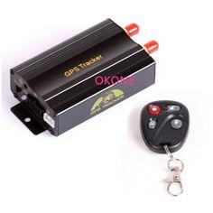 Promotion !!! Car GPS Tracker System GPS GSM GPRS Vehicle Tracker Locator TK103B with Remote Control SD SIM Card Anti-theft 5842