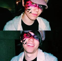 Ryan Ross the master of the makeup, I'm gonna do this