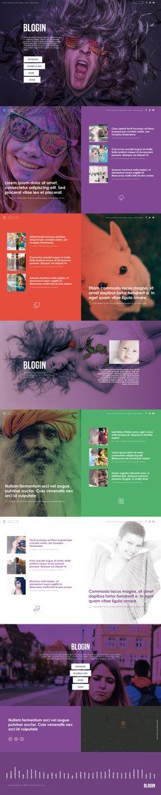 Blogin - Web Design #WebDesign #Inspiration #WebSite #UX #FrontEnd Web Design, Website, Blog, Inspiration, Product Development, Biblical Inspiration, Design Web, Blogging, Website Designs
