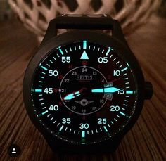 """Heitis Watch Company Aviator Watch - More on this new pilot watch based out of Buffalo, NY at: aBlogtoWatch.com - """"Hi, aBlogtoWatch audience, my name is DJ Heider and I am the creator of the Heitis Watch Company. My project is currently on Kickstarter, and I would like to share it with you. I've always been fascinated by the World War II-era pilot watches. My Grandpa Fox was in WWII, and when he passed away in 1989, his military issued watch was passed down..."""""""