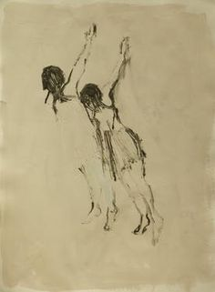 "Saatchi Art Artist Marta Zamarska; Drawing, ""Modern Dance XXX"" #art"