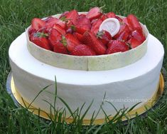 VÍKENDOVÉ PEČENÍ Baked Goods, Watermelon, Cheesecake, Strawberry, Baking, Fruit, Pastries, Patisserie, Cheese Cakes