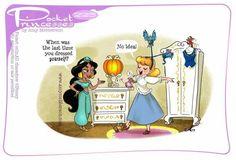 Pocket Princesses 225: Attendants