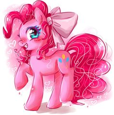 I believed that every pony has been through some trauma so should all be like Pinkie pie and bright in that somebody's day then you'll be happy because you save somebody from crying feeling like they left out when really they care