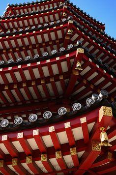 Heiken-ji temple at Kawasaki-taishi, Japan