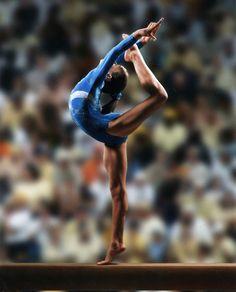 solo gimnasia artística... solo los que practican este deporte saben lo difícil que es.