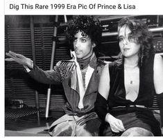 Prince & Lisa purple Rain 1984