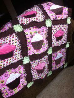 -Cupcake Rag Quilt Pattern by Ash Savage - a whoopdwhoop creation