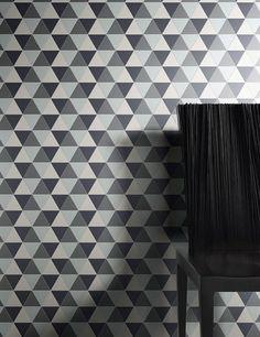 piastrelle sottili gouache decoro libeccio design by diego grandi - Lea Ceramiche